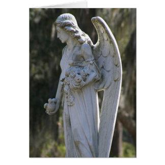 Cartão Cartão do anjo de Cynthia