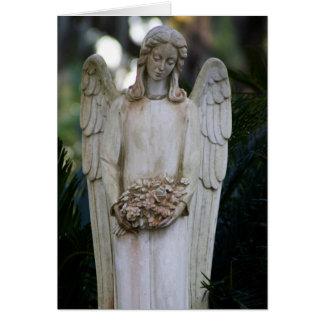 Cartão Cartão do anjo de Johnny