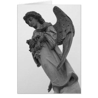 Cartão do anjo de Louisiana