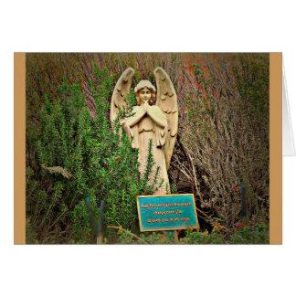 Cartão do anjo de Sedona