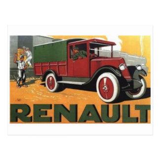 Cartão do anúncio do caminhão do vintage cartão postal