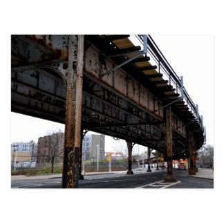 Cartão do apoio da passagem superior da oxidação