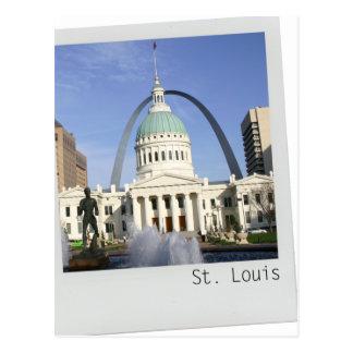 Cartão do arco de St Louis