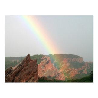 Cartão do arco-íris