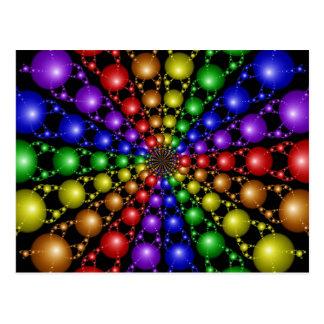 Cartão do arco-íris de Newton