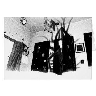 Cartão do armário de Slenderman
