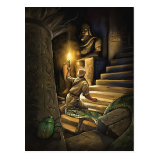 Cartão do arqueólogo