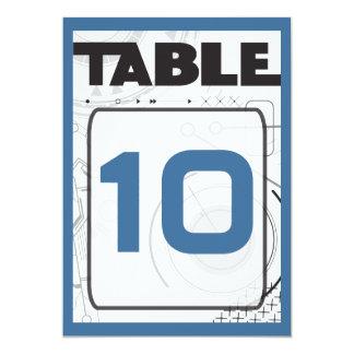 Cartão do assento da mesa de Mitzvah do bastão do