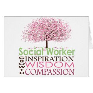 Cartão do assistente social