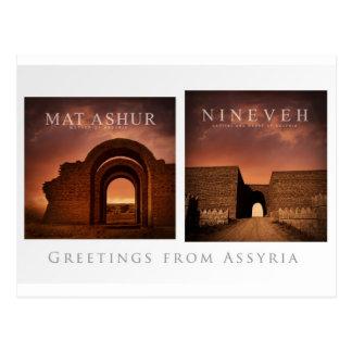 Cartão do Assyria