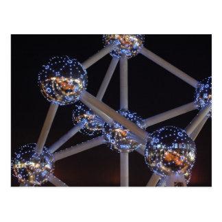 cartão do átomo