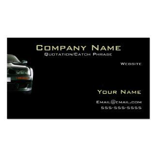 Cartão do automóvel/empresa seguradora cartões de visitas