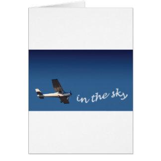 Cartão do avião