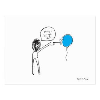 cartão do balão
