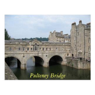 Cartão do banho da ponte de Pulteney