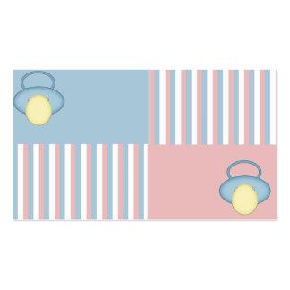 Cartão do bebê cartão de visita