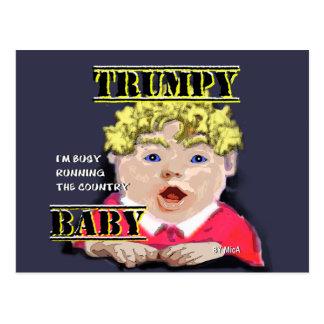 Cartão do bebê de Trumpy