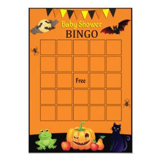 Cartão do Bingo do Dia das Bruxas