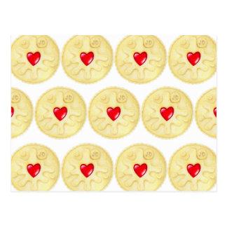 Cartão do biscoito de Jammie Dodger