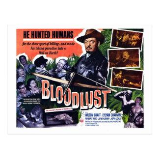 """Cartão do """"Bloodlust"""""""