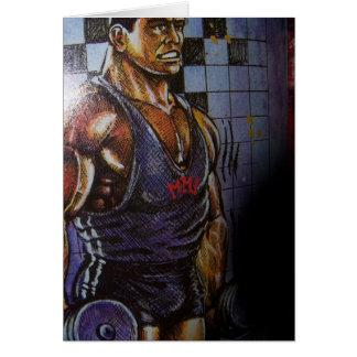 Cartão do Bodybuilder