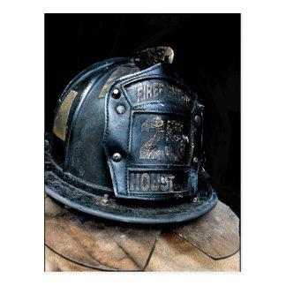 Cartão do bombeiro de Houston