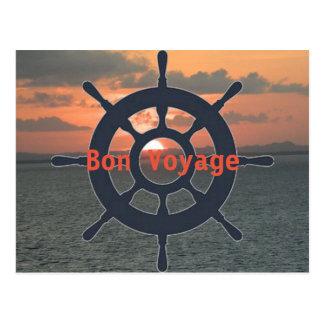 Cartão do bon voyage