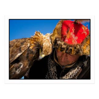 Cartão do caçador de Eagle