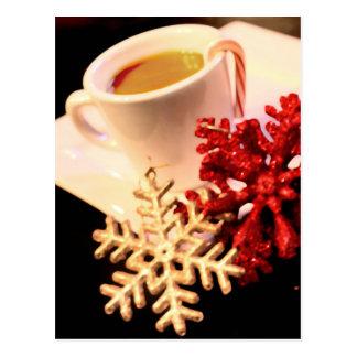 Cartão do café do Natal