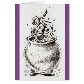 Cartão do caldeirão