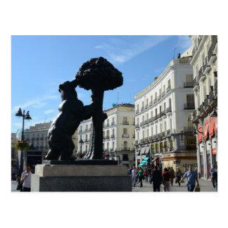 Cartão do calendário de Madrid 2014