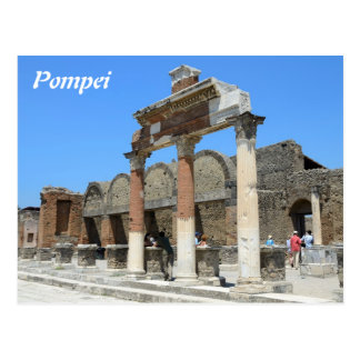 Cartão do calendário de Pompeia 2014 Cartão Postal