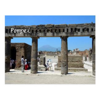 Cartão do calendário de Pompeia, Italia 2015 Cartão Postal