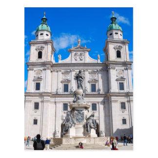 Cartão do calendário de Salzburg, Áustria 2014