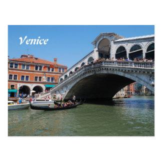 Cartão do calendário de Veneza 2016