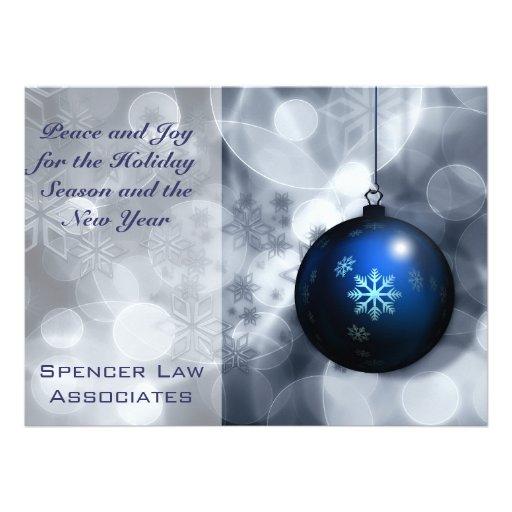 Cartão do calendário do feriado 2015 do Natal do Convites Personalizados