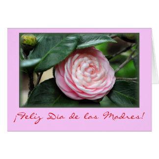 """Cartão Do """"camélia dia das mães """""""