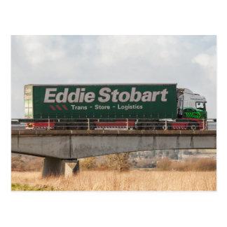 Cartão do caminhão de Eddie Stobart