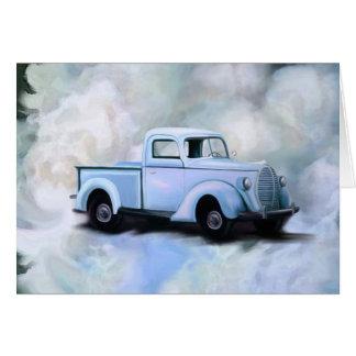 Cartão do caminhão do vintage 1939