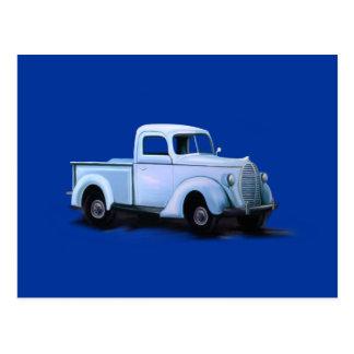 Cartão do caminhão do vintage 1939 cartao postal