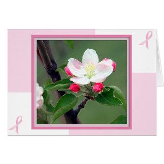 Cartão do cancro da mama; Cartão da consciência do