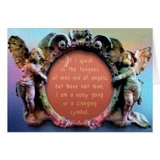 Cartão do capítulo do amor