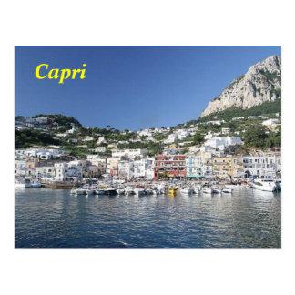 cartão do capri