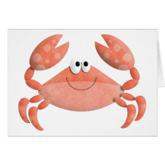 Cartão do caranguejo