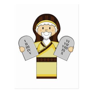Cartão do caráter de Moses