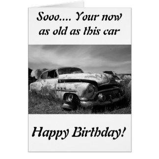 Cartão do carro de Buick Classic