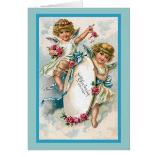 """Cartão Do """"cartão de aniversário alemão vintage """""""