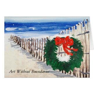 """Cartão Do """"cartão do alvorecer Natal"""""""