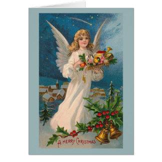 """Cartão Do """"cartão do anjo Natal"""""""