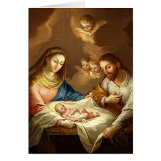 """Cartão Do """"cartão feito sob encomenda de Natividad La"""""""